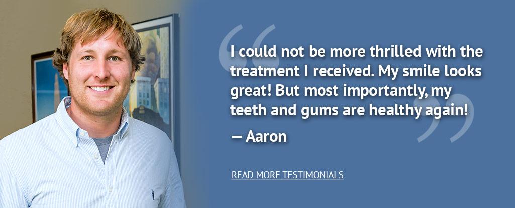 dental office testimonials